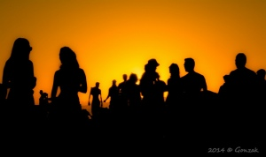 """""""People in the summertime,"""" by Gonzalo G. Useta, Flickr Creative Commons"""