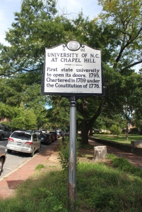 UNC Historical Marker