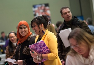 """Career Fair at College of DuPage 2014"" by COD Newsroom, Flickr Creative Commons"