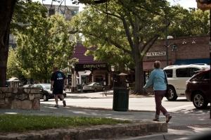 Downtown Chapel Hill, NC on Franklin Street.