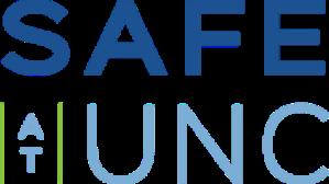 Safe at UNC logo.