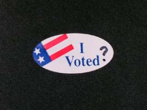 I voted sticker with question mark.