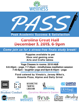 P.A.S.S. Event on December 5, 2015